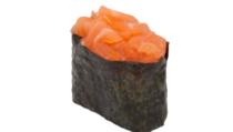 Гункан с острым лососем